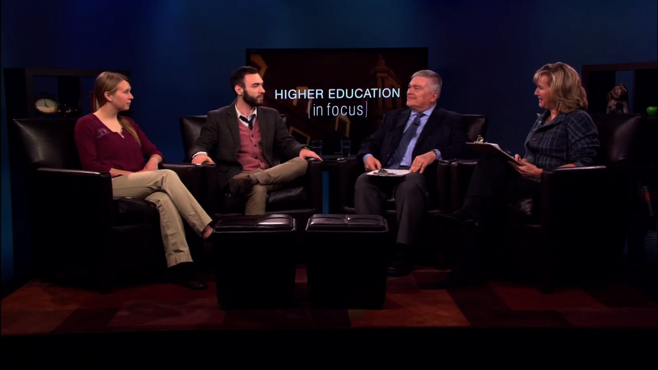 Set of Higher Ed in Focus featuring Penn State's Lunar Lion Team