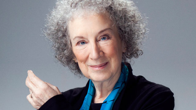 Headshot of Margaret Atwood
