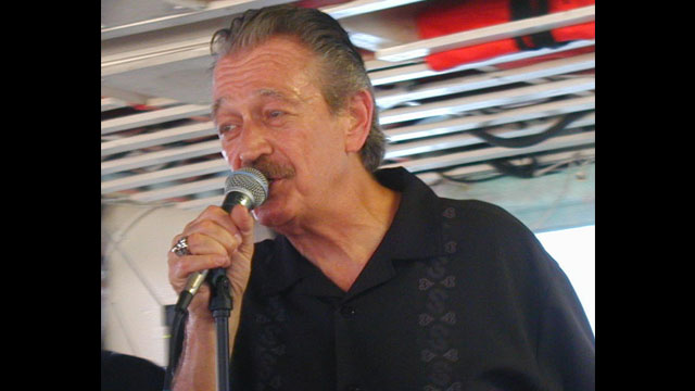 Charlie Musselwhite performing on the New York City Blues Cruise