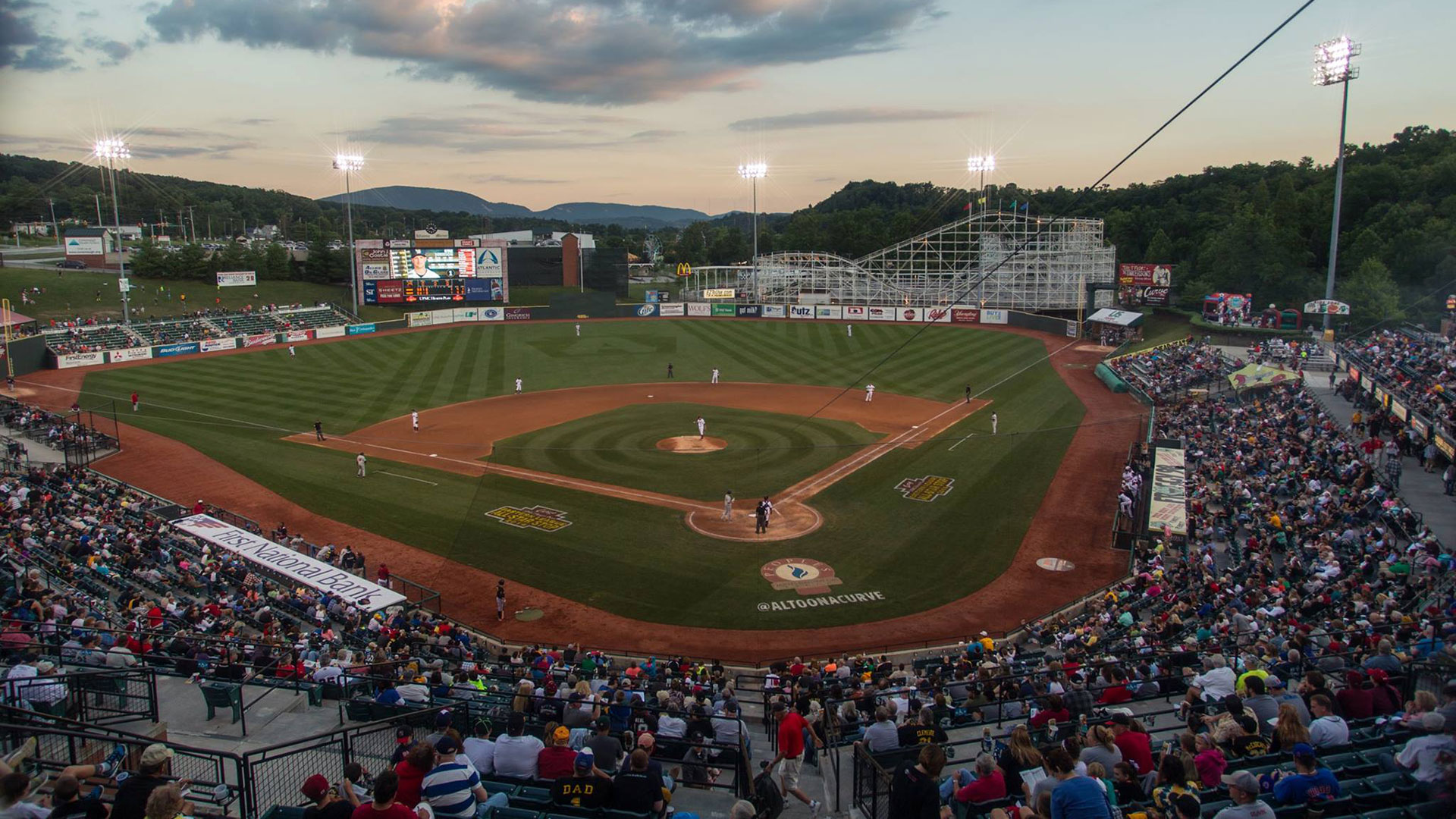 Photo of PNG Park field. Credit Altoona Curve.