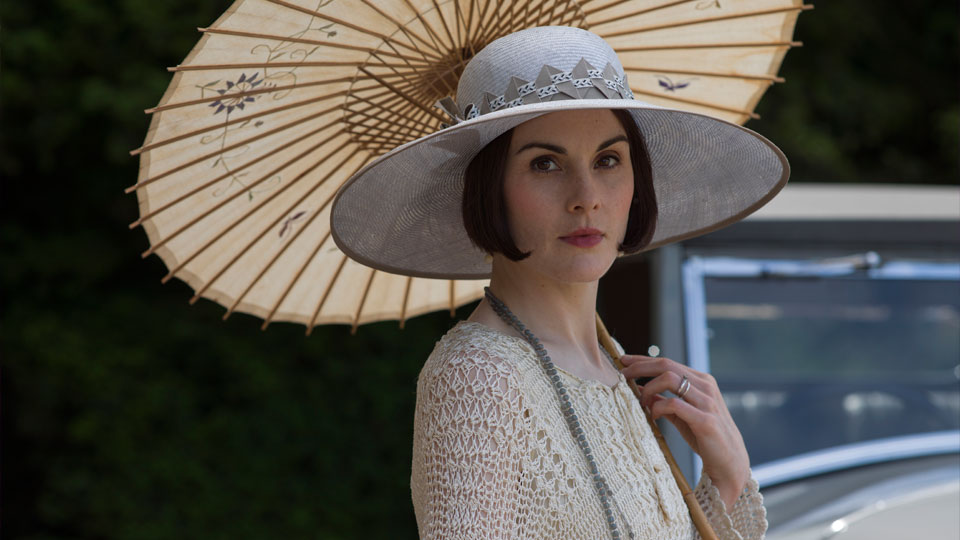 Michelle Dockery as Lady Mary
