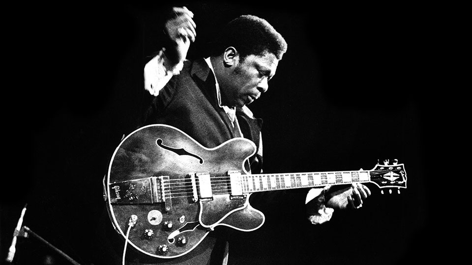 B. B. King performs live at the Concertgebouw in Amsterdam, 1972