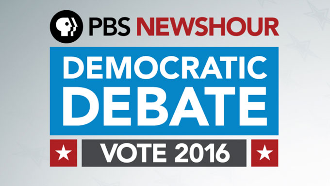 PBS NewsHour Democratic Presidential Debate