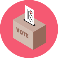 Icon Polling Place
