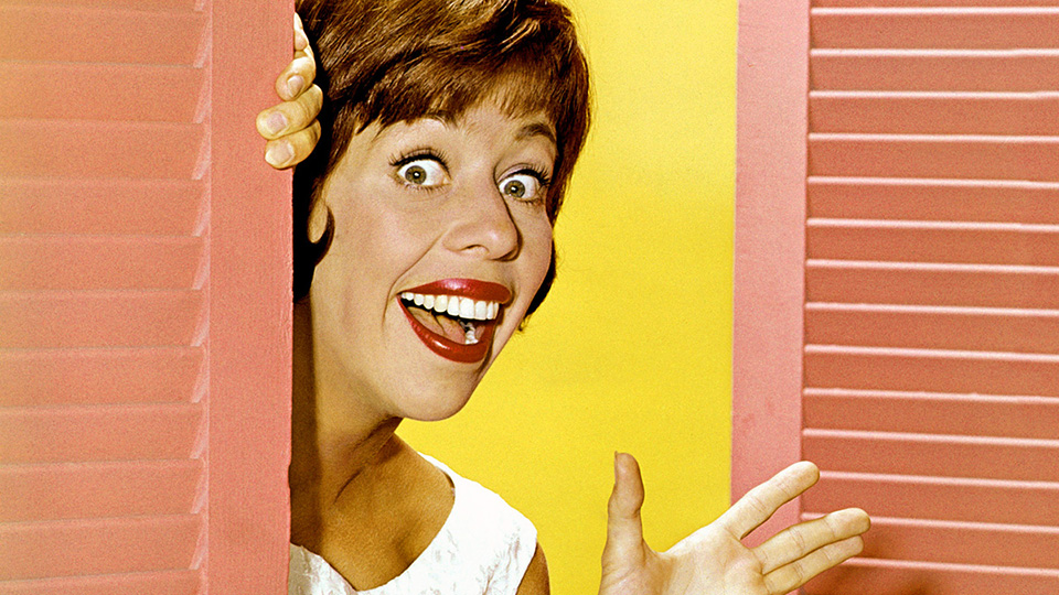 Carol Burnett in the late 1960s.
