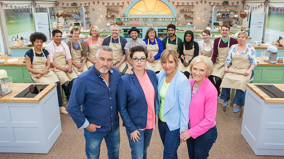 he judges, hosts, and contestants of The Great British Baking Show, Season 3.