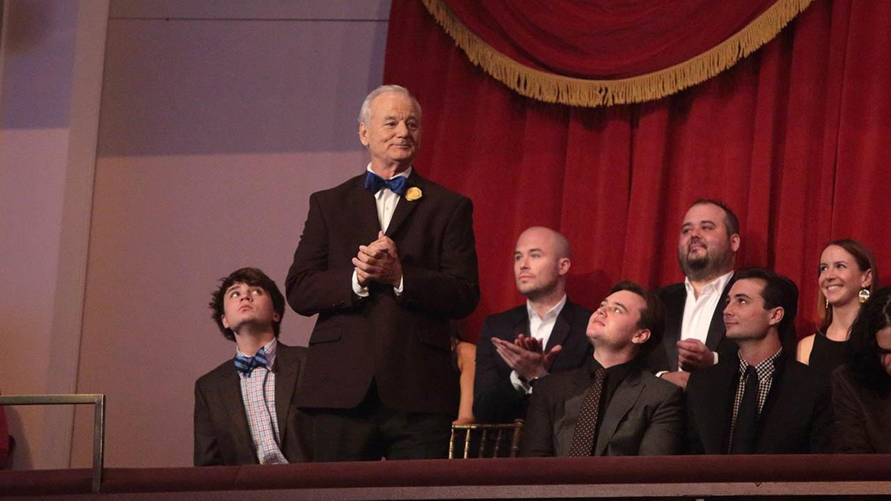 Bill Murray presented with Mark Twain Prize