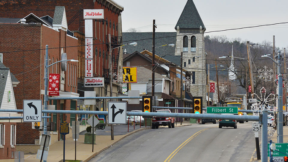 Downtown Curwensville