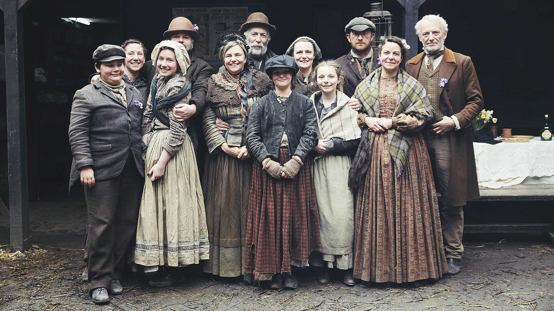 Victorian Slum House cast