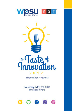 A Taste of Innovation program cover