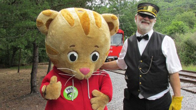 Daniel Tiger at Rockhill Trolley Museum