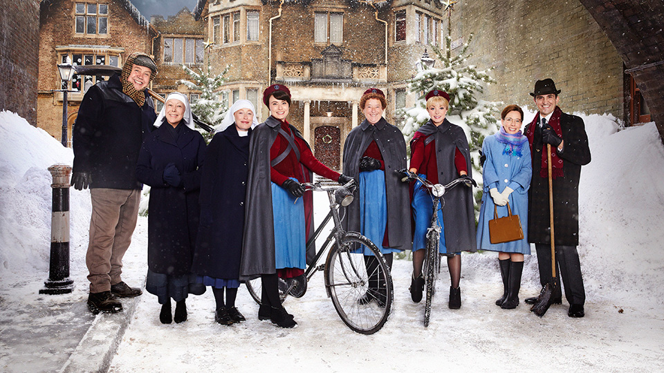 Cast of Call the Midwife Holiday Special