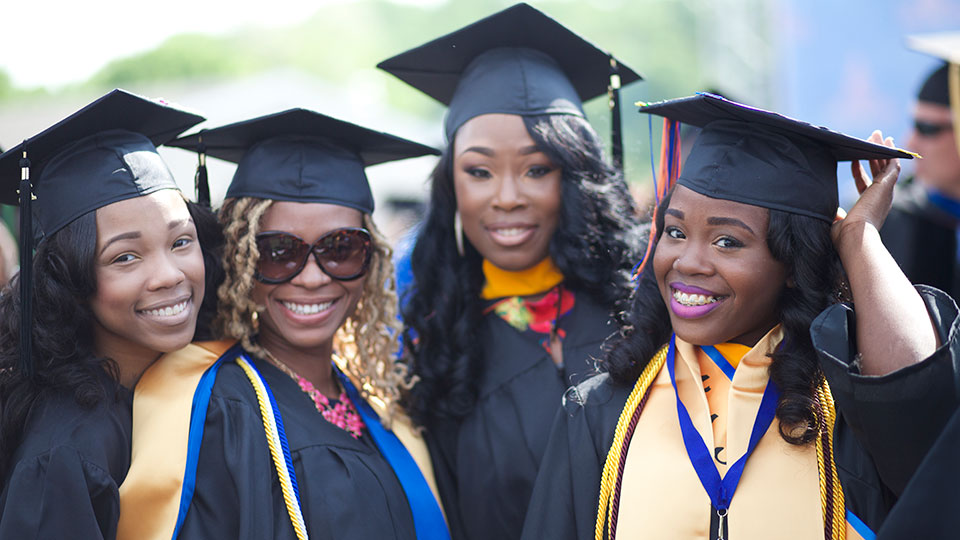 Recent graduates of Morgan State University, Maryland