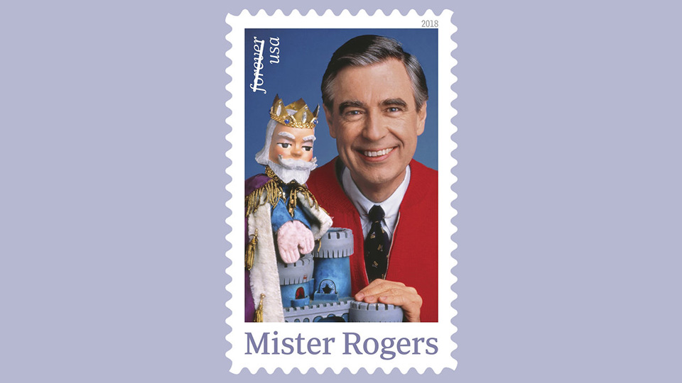 Mister Rogers Stamp