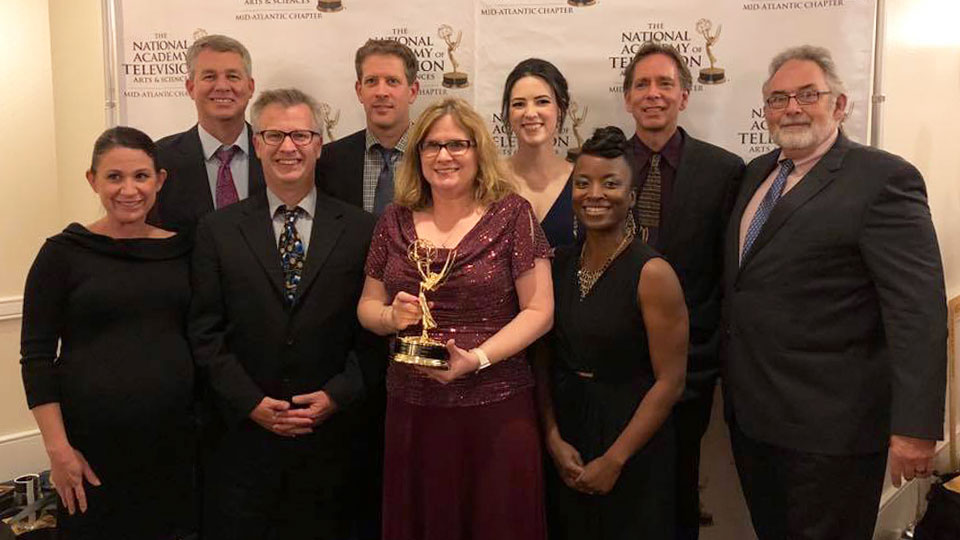 WPSU won the 2018 NATAS Mid-Atlantic Emmy® for Overall Station Excellence