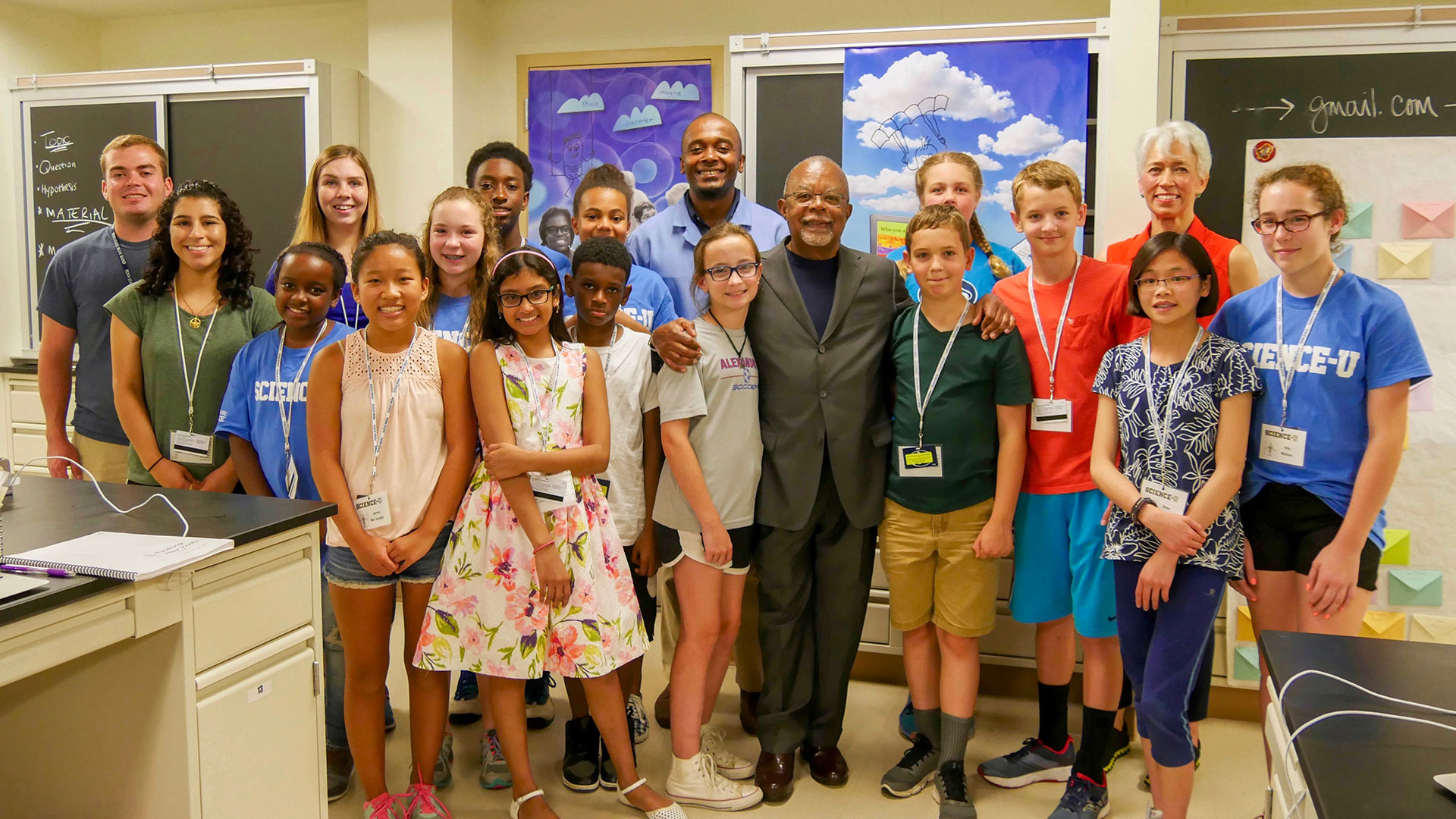 Finding Your Roots Campers with Henry Louis Gates Jr.