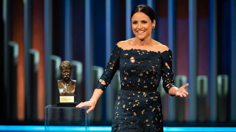 Julia Louis-Dreyfus receives Mark Twain Prize