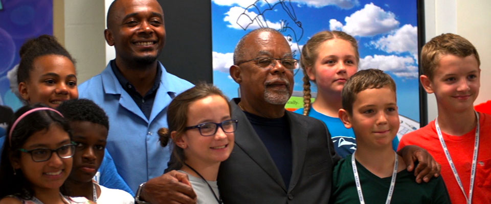 Henry Louis Gates Jr. with Penn State genealogy campers