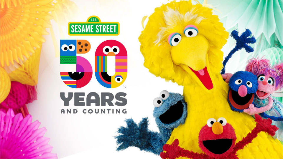 Sesame Street 50 Years and Counting