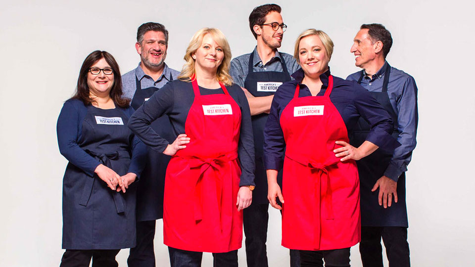 America's Test Kitchen cast