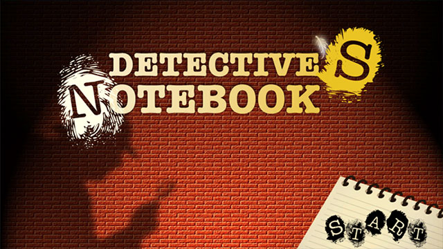 Detectives Notebook