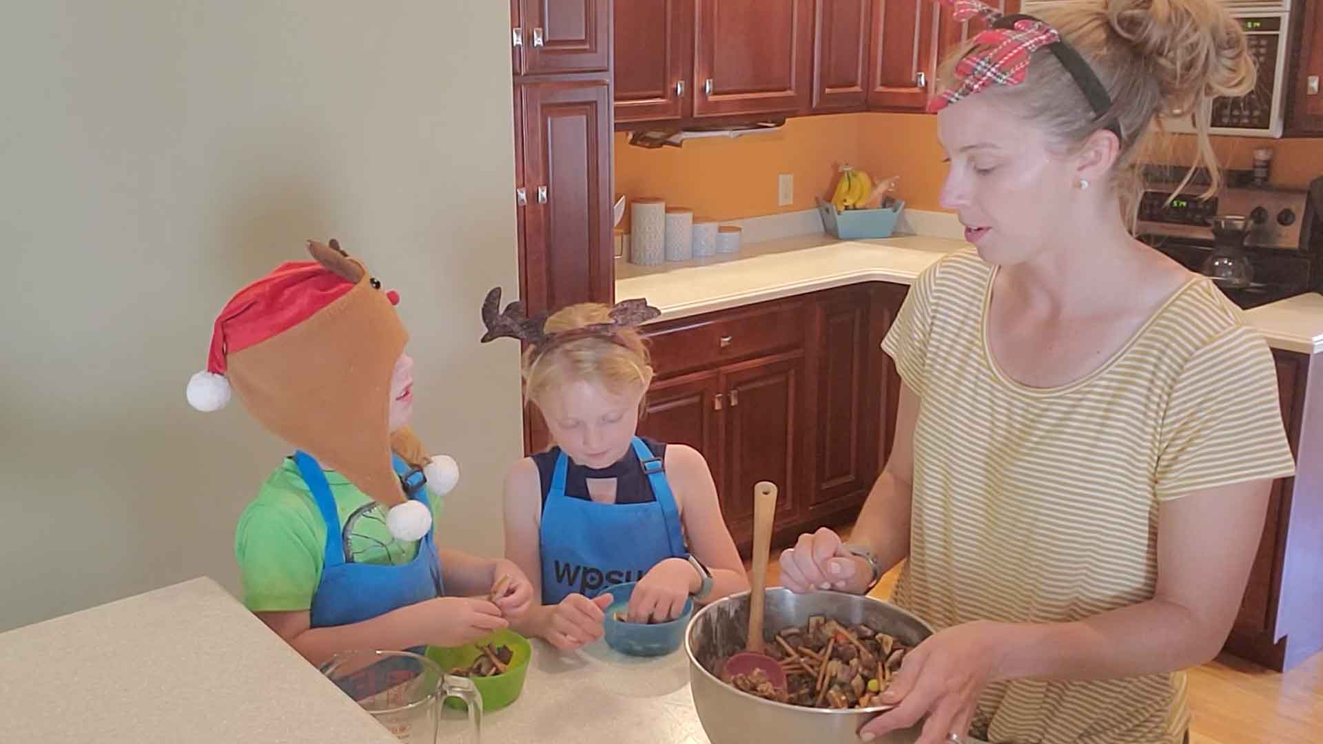Cooking with Cassie and Kids