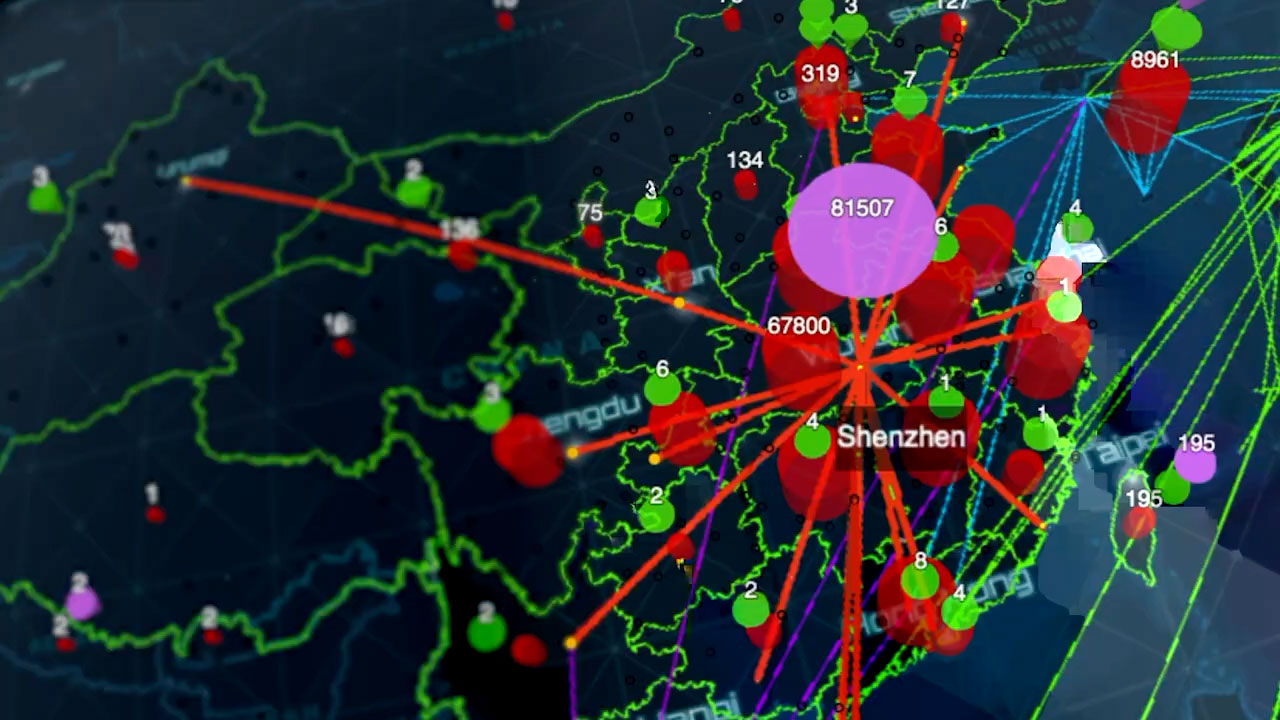 Mapping the Pandemic