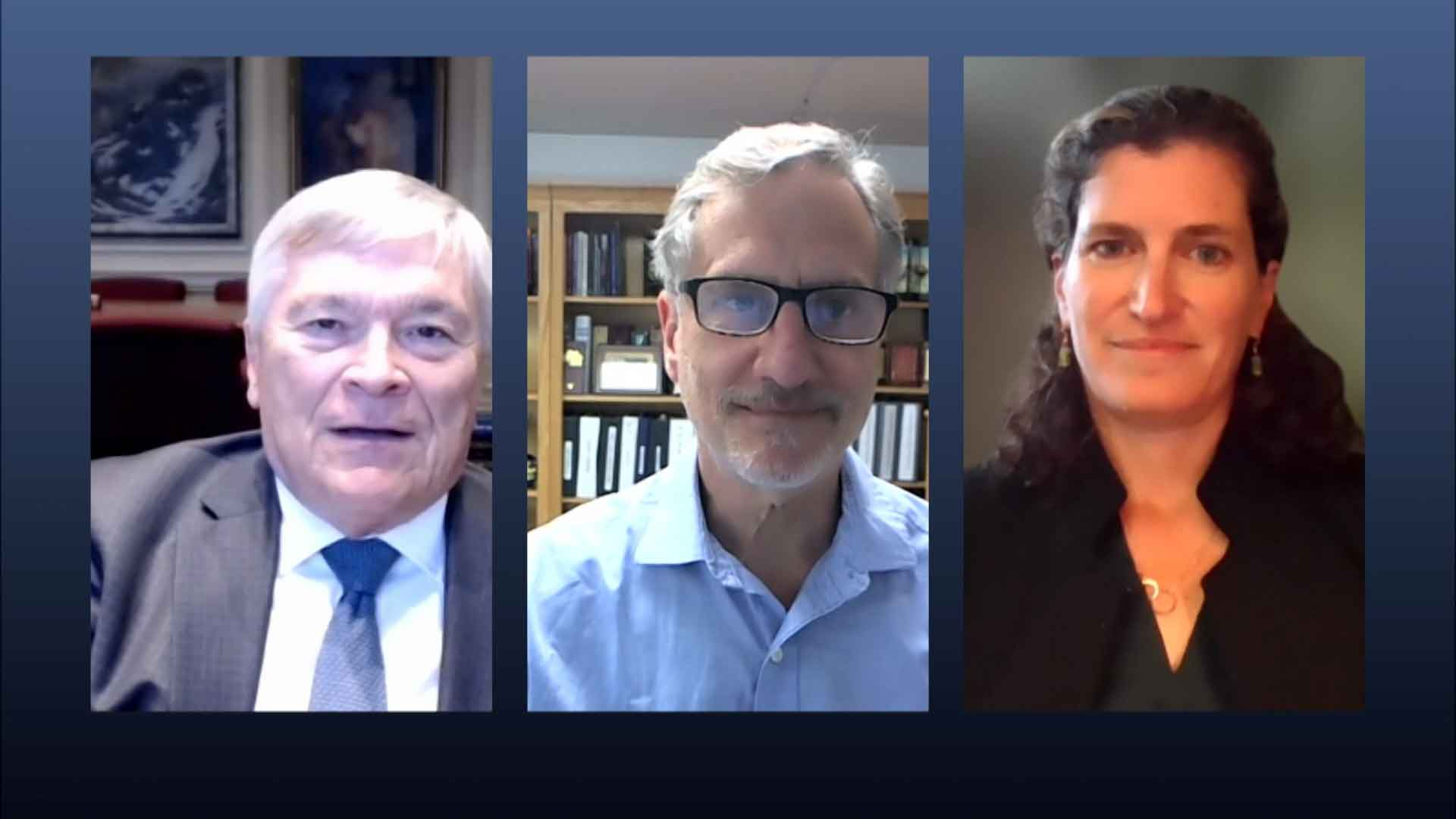 Penn State President Eric Barron and guests on Digging Deeper