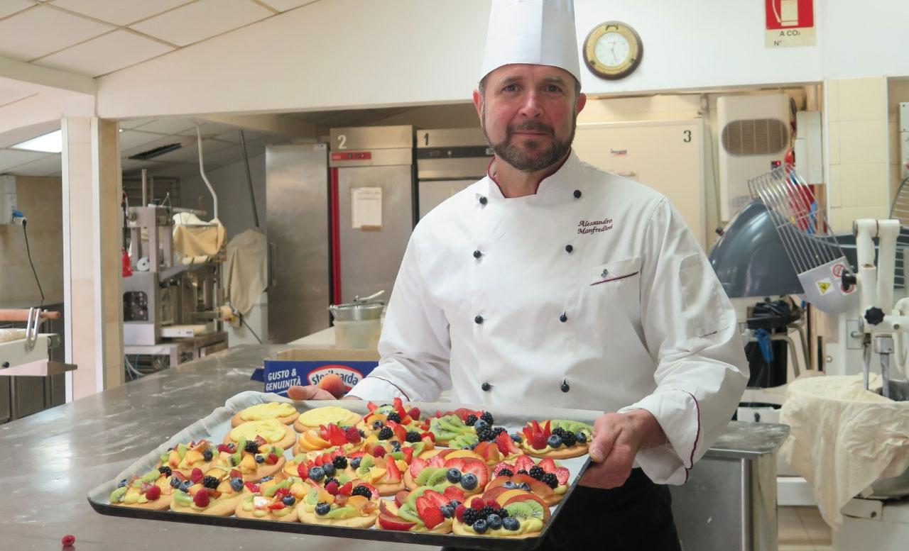 Chef Alessandro Manfredini