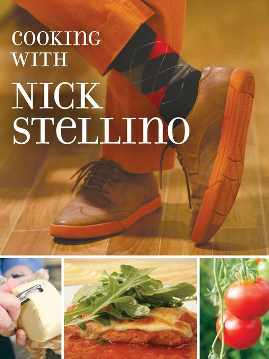 Bookcover - Cooking with Nick Stellino