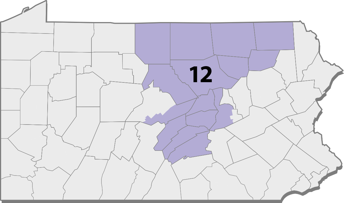 Pennsylvania Congressional District Map 2018