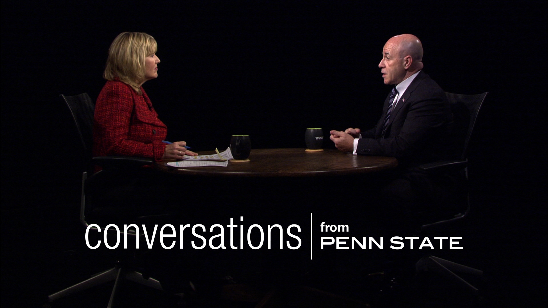 Title card from Conversations from Penn State