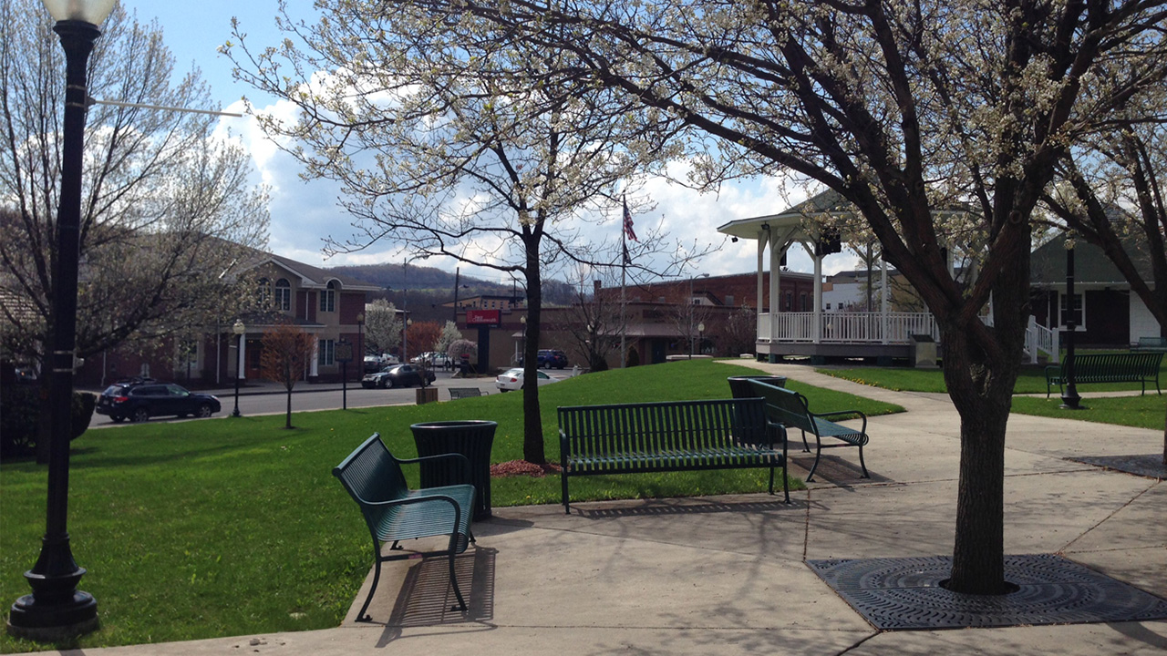 Photo of community park in Windber, PA