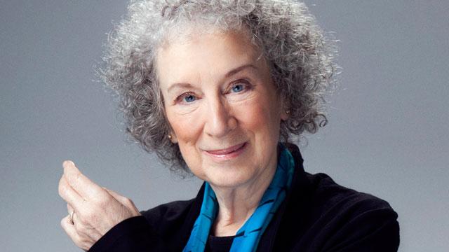 Headshot of Margaret Atwood