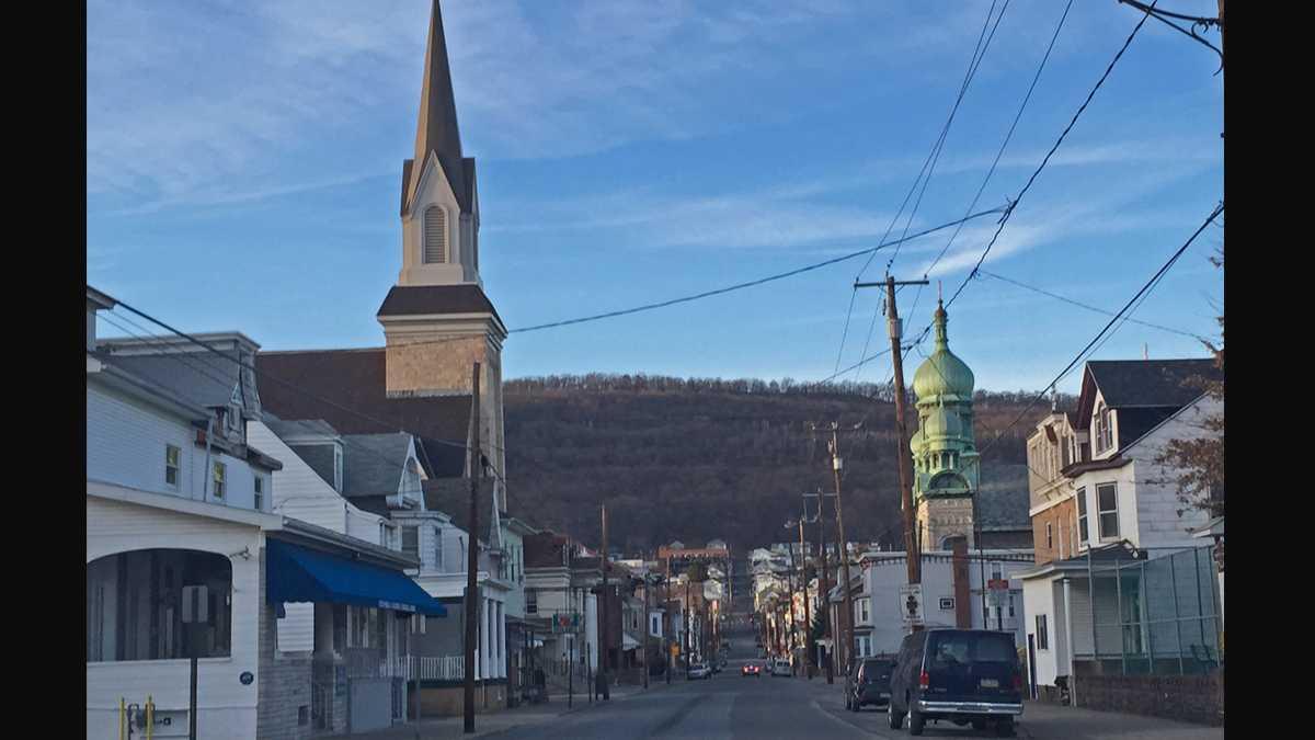 A view of Shamokin, Pa.