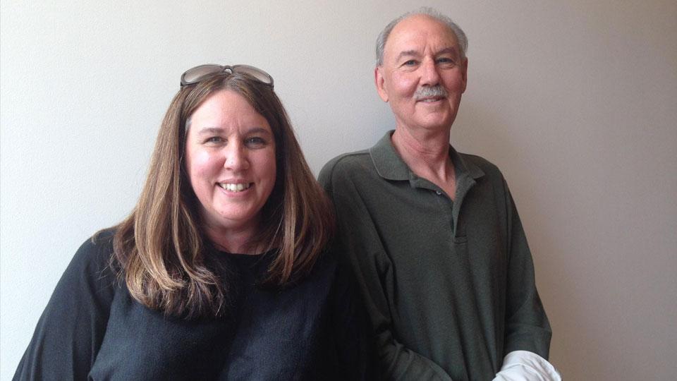 Steve Shroeder and his daughter, Jennifer Rand.