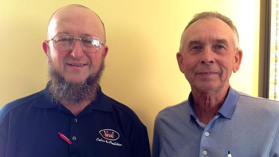 Michael Kunsman and Michael Kennis. Credit Emily Reddy / WPSU