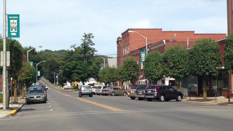 Photo of downton Brockway, PA