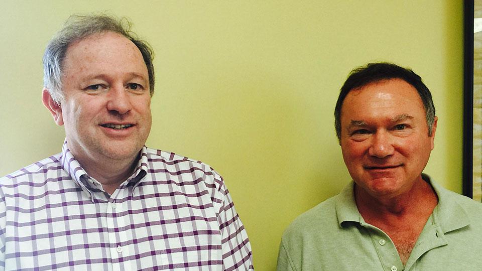 Richard Hughes and Dave Wulderk