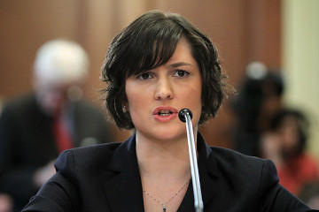 Sandra Fluke testifies before Democratic members of Congress on the Affordable Care Act's Contraceptive Mandates.