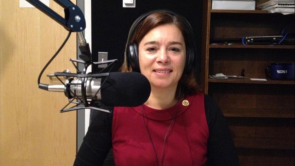 Jennifer Stapper, Communications Chief, United Nations Volunteers.