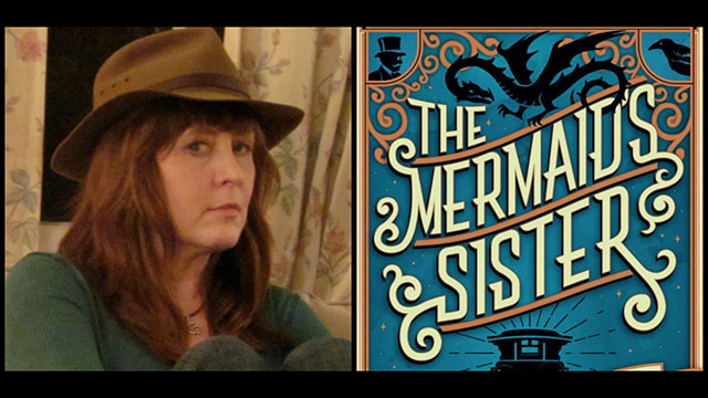 "Reviewer Kris Allen and the cover of ""The Mermaid's Sister"""