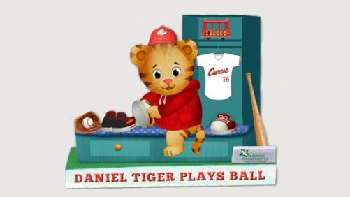 Daniel Tiger figuring rendering