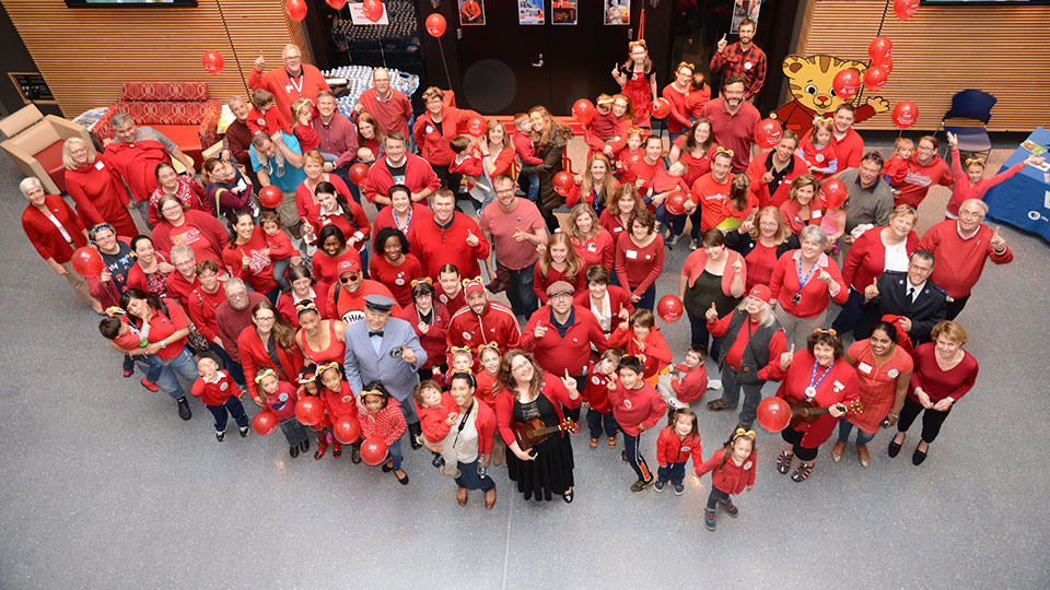 Red Sweater Day 2016
