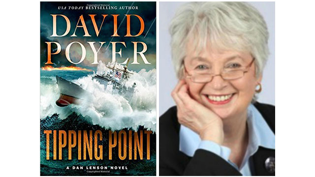 Tipping Point cover and reviewer Cheryl Bazzoui