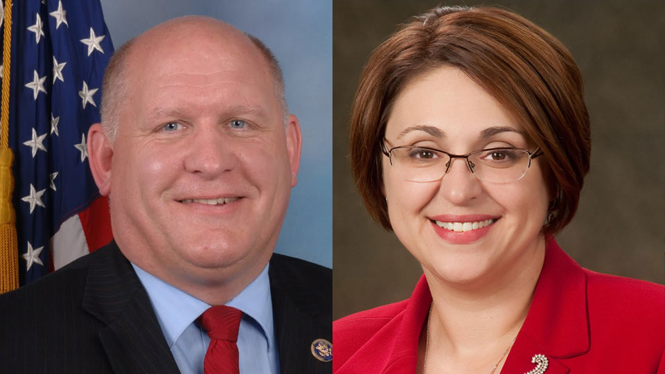 Congressional 5th District candidates - Glenn Thompson and Kerith Strano Taylor