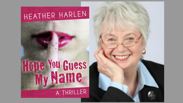 """The cover of """"Hope You Guess My Name"""" and reviewer Cheryl Bazzoui."""