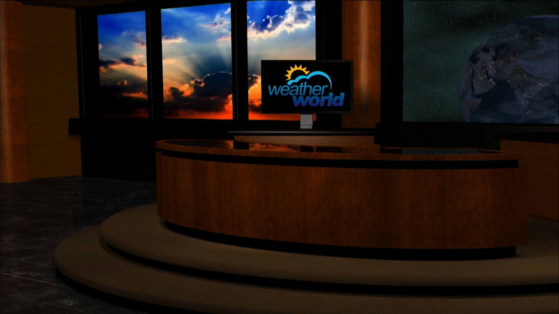 Weather World studio