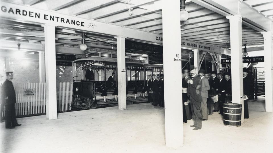 Park Street Station, underground (1897)