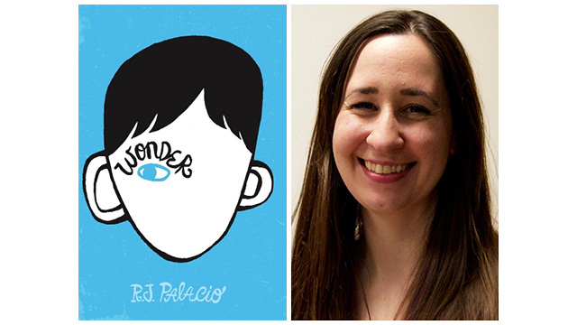 "Essayist Laura Sarge reviewed ""Wonder"" by R.J. Palacio."